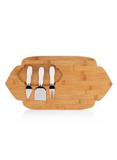 Schafer Lotus Bambu Peynir Sunum Seti-35983 Renkli
